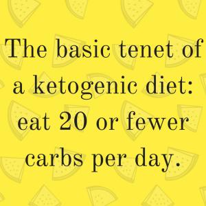 Keto diet carbs
